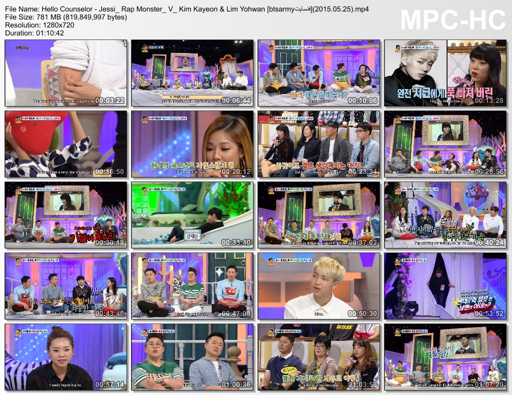 r5ee hello counselor   jessi rap monster v kim kayeon amp lim yohwan [btsarmy%D9%81%D9%86%D8%B3%D8%A7%DB%8C%D8%AA](2015.05.25).mp4 thumbs - [Video/Engsub /Link] BTS at Hello Counselor TV Show  [with jin ,jimin, Rm ,V]